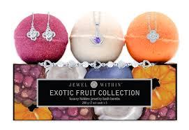 exotic fruit jewelry bubble bath s