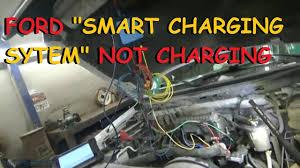 ford smart charge system alternator not charging ford smart charge system alternator not charging