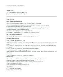 Head Waitress Job Description – Lespa