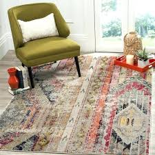 sophisticated rug on fl ivory multicolored 9 x red turquoise grey damask gray safavieh white