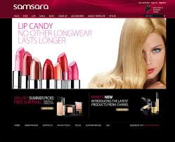 best spa salon makeup beauty template exle free middot template screen shot 1