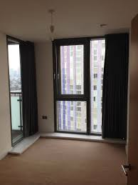 ... vertical blinds with curtains attached for apartment windows how to hang  over without nails no drill ...