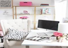 meagan home office. Attractive Chic Office Decor Meagan Wardu0027s Girly Home { Tour 2