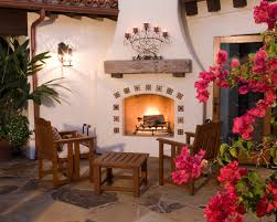Small Picture Spanish Fireplace Design Spanish Style Outdoor Fireplace SAN