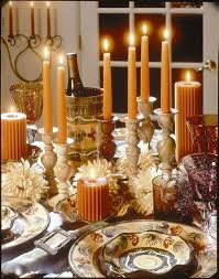 fall dining room table decorating ideas. Fall Table Setting - Candles Are A Must! Dining Room Decorating Ideas I