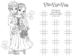All font styles and colors are editable by you, however the color of the graphics themselves are not editable. Wedding Coloring And Activity Book