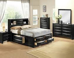 Emily Black Bedroom Collection