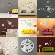 diy office wall decor. Office Wall Decor Inspirational 3d Diy Modern Clock Stickers Decal Art Home