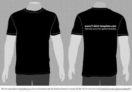 Free Vector Moder T Shirt Template Front Back Vector4free