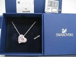 swarovski alana heart pendant love