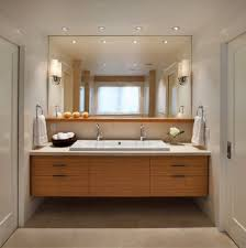 recessed lighting bathroom. Bathroom With Recessed Lights And Simple Scones. The Mirror Shelf Is  Similar To What We Want For The Masters. Lighting Bathroom
