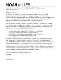 clerical assistant cover letter best accounting assistant cover letter examples livecareer at