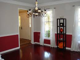 dining room color schemes chair rail dining room color schemes chair rail with paint ideas