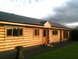 Mobile Home Log Cabins Hybrid Construction British Log Cabins