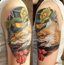 значение татуировки лиса 20 фото тату