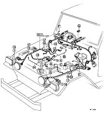 toyota land cruiser bj kcj electrical wiring clamp land cruiser 40 50 wiring clamp