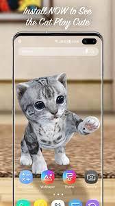 3D Cute Kitty Cat Live Wallpaper & ...