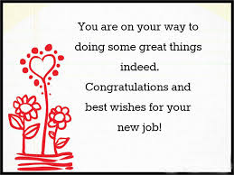 New Job Quotes Simple Best Wishes For New Job Congratulations Messages For New Job