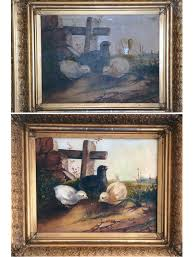 this small oil painting was dirty stained and torn after cleaning and repair it is bright and attractive