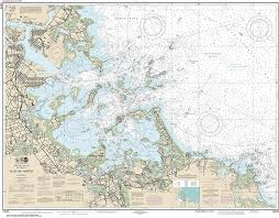 Boston Harbor Chart