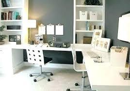 office furniture idea. Double Desk Home Office Ideas For Two . Innovative Furniture Idea