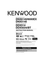 kenwood ddx514 manuals