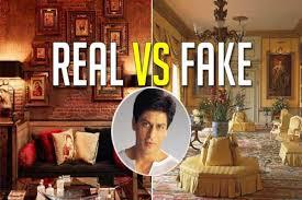Interior Design Of Mannat Have You Visited Shah Rukh Khans Mansion Mannat Real Vs