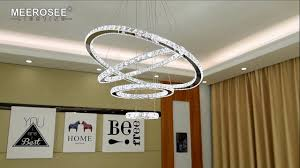 meerosee crystal 4 ring chandeliers d31 5 23 6 15 7 7 8