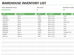 Free Excel Inventory Template Excel Equipment Inventory Templates