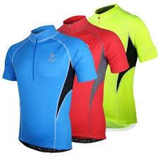 <b>arsuxeo men's</b> short sleeve <b>cycling</b> jersey <b>bike bicycle</b> jersey ...