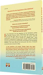 soka education for the happiness of the individual bookwise design