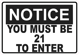 Must 5in To Magnet Notice 5in 3 21 X Stickertalk® Enter Magnets Business Be Sign