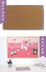 office cork board ideas. DIY Pink Ombre Painted Corkboard Tutorial Office Cork Board Ideas
