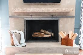 this sliding fireplace screen is amazing best of all this ger s tutorial