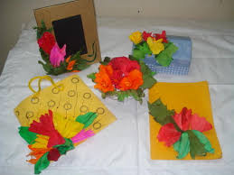 Making Of Flower With Paper Paper Flowers Making Classes In Indore Saket Nagar By Kala