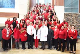 go red for women at j w ruby memorial