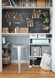 desk in closet. Modren Desk Come Tour My Closet Desk Craft Room And Home Office All In One To Desk In Closet S