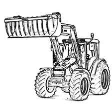 tractor color pages. Unique Tractor Themonstertractor Throughout Tractor Color Pages