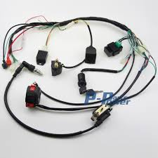 popular atv wiring harness buy cheap atv wiring harness lots from Buyang 2006 110 Atv Wiring Diagram full electrics wiring harness coil cdi assembly 50 70 110cc atv quad bike buggy Kazuma 50Cc ATV Wiring Diagram