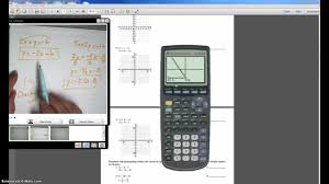 how to use your graphing calculator to solve systems of equations problems you