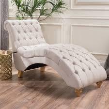 Chaise Lounge Chairs Bellanca Fabric Tufted Chair  Ebay  DDAFBAO96