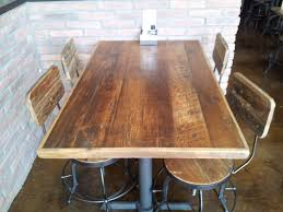 unfinished wood table tops implausible reclaimed top straight planks rc supplies home ideas 3