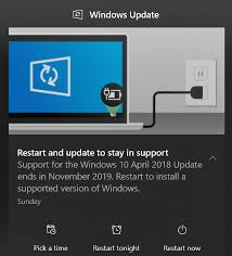 Microsoft Sends Restart And Update To Stay In Support