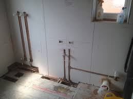 bathroom installation 1st fix plumbing