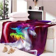 halloween watercolor sherpa blanket for