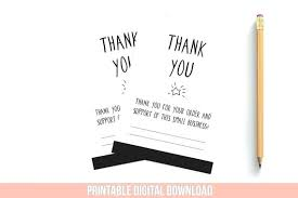 Small Thank You Card Template Thank You Cards Small Card Template Free
