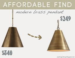 affordable pendant lighting. wonderful pendant knock off goodman circa lighting brass lamp ballard designs morgan pendant  affordable find for affordable pendant lighting c