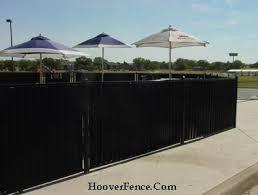Ornamental Slats Hoover Fence Co