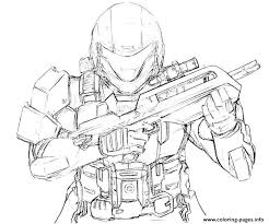 Free Halo Spartan Coloring Pages Toyolaenergycom Coloring Home