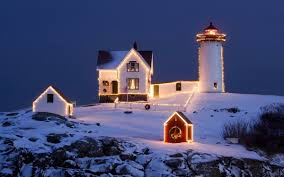 Wallpaper Hdr Photos, Lighthouse, Snow ...